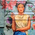 Street Art, Frida Kahlo, Palermo Hollywood, Buenos Aires City