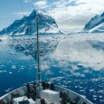 Ice floes ship view, Antarctica